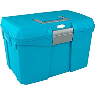 Amesbichler Norton Grooming Box, Turquoise and Grey | Grooming Box | Wall Case |putzkasten