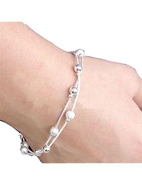 JaneDream Vintage Kette Perlen-Armband Doppelstrang-Pretty