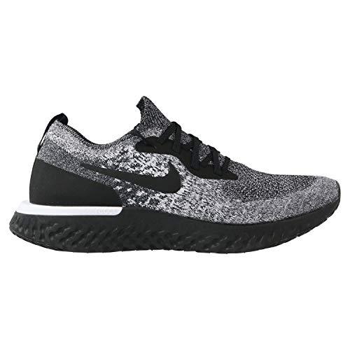 Nike Damen WMNS Epic React Flyknit Laufschuhe, Schwarz Black/White 011, 38 EU