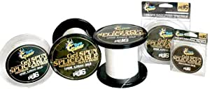 Toro Tamer Ultra Thin Spliceable Braid Fishing Line, White, 25m (30-Pound)