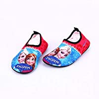 Kids Water Shoes Boys Girls Swim Shoes Quick-Dry Barefoot Aqua Shoes Socks for Beach Pool Surfing Yoga