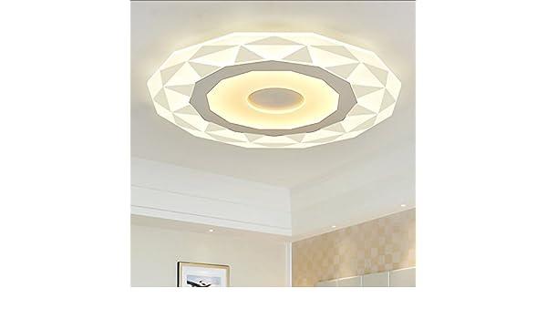 Plafoniere Ultra Sottile Salotto : Qxhd diamante led lampada da soffitto ultra sottile moderna sala