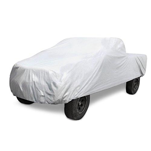 sourcingmap® M weich Aluminum Pickup Abdeckung Anti Regen wasserdichte UV Wärme 564x203x173cm DE de