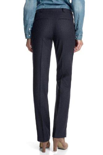 ESPRIT Pantalon élégants  Droit Femme Bleu - Blau (406 cinder blue)