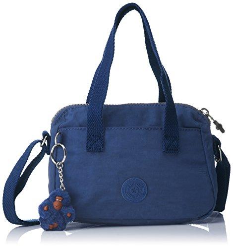 Kipling - Leike, Borse a spalla Donna Blu (Jazzy Blue)