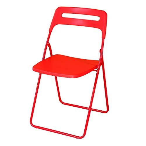 Tabouret - Chaise Pliante, Table et Chaise de Salle à Manger à Usage Domestique, Chaise de Bureau/Chaise de conférence/Hauteur de Chaise 45cm (Couleur : B)