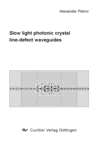 Slow light photonic crystal line-defect waveguides