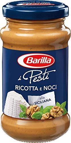 Barilla nussiges Pesto Ricotta e Noci - Pesto 12er Pack (12x190g)