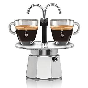 Bialetti 1284 Mini Express 2 Cup Espresso Maker Aluminium