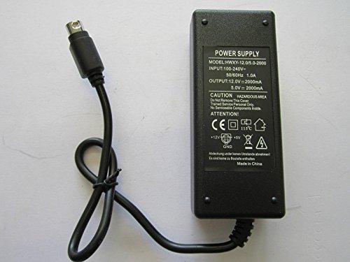 Wattac Netzteil Trafo 12VDC BA0362ZI 5VDC 2.0A AC Adapter für Festplatte Multimedia Woxter