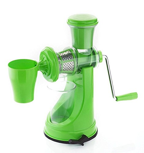 Active Fruit & Vegetable Juicer Mixer Grinder with Waste Collector, (Green)