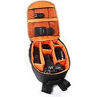 Bolsa Cámara Para Canon /Nikon /Sony,Xinantime Caso réflex digital a prueba de agua (Naranja)