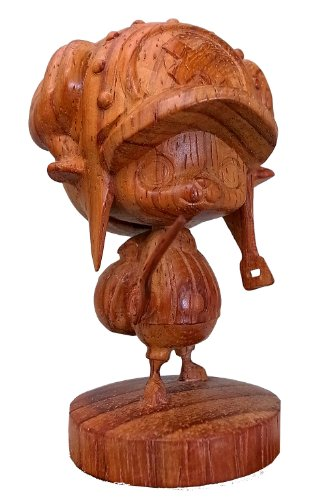 One piece wood carving chopper (japan import) (Japan Carving)