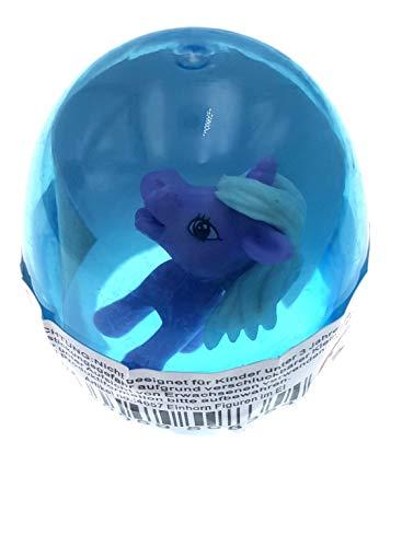 PICCOLI MONELLI Pegatinas de Huevo y Violeta Unicornio Color Huevo Azul Sorpresa