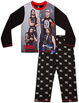 Boys pijama de WWE World Wrestling Entertainment 6A 12años W17