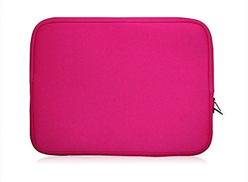 Sweet Tech Rosa Neopren Hülle Tasche Sleeve Case Cover geeignet für Blaupunkt Endeavour 1100 11.6 Zoll Tablet PC (11.6-12.5 Zoll Tablet)