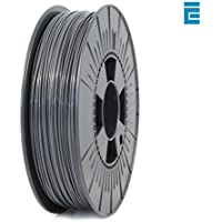 ICE FILAMENTS ICEFIL1PLA015 PLA Filament, 1.75 mm, 0.75 kg, Gris clair