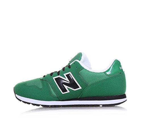 New Balance Kj373gey M, Scarpe da Ginnastica Basse Unisex – Bambini, Verde/Nero Verde