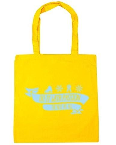 HippoWarehouse, Sac de plage Femme - jaune - Taille unique