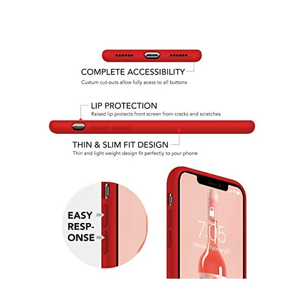 Oihxse Compatible with Huawei P20 Case 3 Pieces with Fashion Design, Soft TPU Bumper Ultra-Thin [Wireless Charging] Back Cover, [Anti-fingerprint] [Non-Fade] Red Matte Finish Skin Shell(4) Oihxse 🦜【Ultra-Thin & Slim Fit】3pcs Ultra-Slim design snugly fit for your Huawei P20 to bring [Sleek Look], [Stylish Charming] and [Great in-hand Feeling] due to the process with matte finish compliment with fashion pattern on the mobile phone case back-red colour. 🦜【Support Wireless Charge】With precision cutouts of the Huawei P20, you can easy access to headphone jack, charger port, key mute, speakers, audio ports and buttons without the interference of [WiFi Reception], [Signal Reception], [Wireless Charging Performance], etc. 🦜【Anti-Fingerprint & Non-Fade Material】Crafted with soft anti-yellowing and non-fade TPU material with red frosted finish to provide you fingerprint resistant, anti-slip, daily scratches, bumps, drops and other daily damages. 2