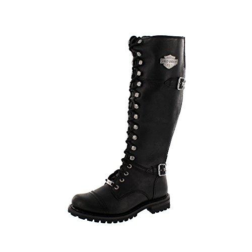 Austin Stiefel (Harley Davidson Beechwood Boots Schwarz EU38)