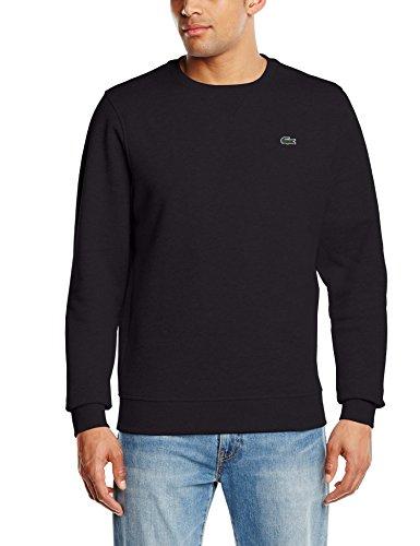 Lacoste Herren Sweatshirt SH7613 - 00, Schwarz (Noir), Medium (Herstellergröße: 4)