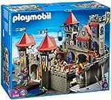 AD-165/playmobil ® - die große Königsritterburg 3268 m. 20 Rittern 4 davon mit Pferd - jede Menge Zubehör
