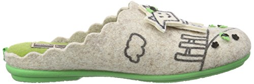 Manitu - 320441, Pantofole Donna Beige (Beige (Beige))