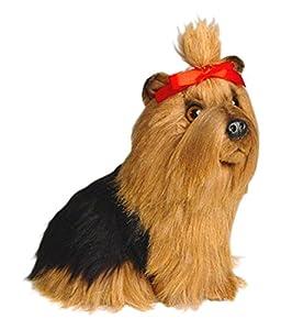 Piutrè 130128cm Sentado de Peluche, diseño de Cachorro de Yorkshire Terrier