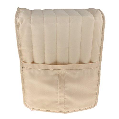 MagiDeal Baumwolle Küche Schutzhülle Abdeckung Geeignet für Standmixer/Kaffeemaschine - Elfenbein, L