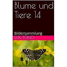 Blume und Tiere 14: Bildersammlung (German Edition)
