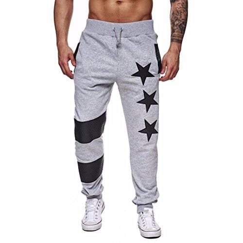 Ba Zha Hei Männer Jogginghose Pentagramm Design Freizeithosen Männer Casual  Jogger Dance Sportwear Baggy Slim entworfene e986e65063