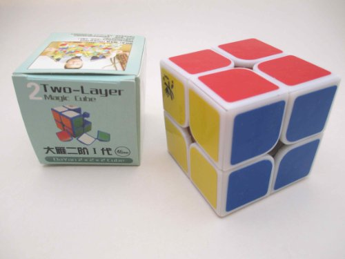Dayan 2013 Dayan Zhanchi 2X2 I White 46Mm Speed Cube 2X2X2 Puzzle  available at amazon for Rs.1256