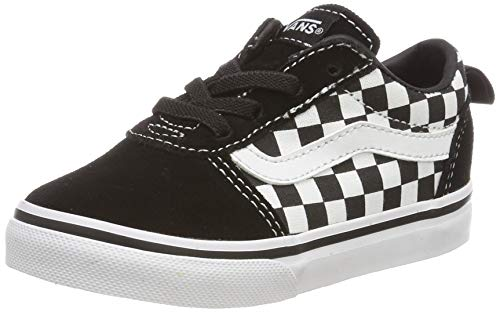 Vans Ward Slip-on Canvas, Zapatillas Unisex bebé, Negro ((Checkers) Black/True White PVC),...