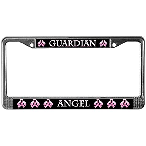 CafePress rosa Angelo Custode License Plate Frame per software – Standard