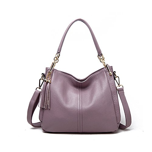 GUANGMING77 Borsetta Donna _ Ladies Borsetta Tracolla Diagonale,Claret Purple taro