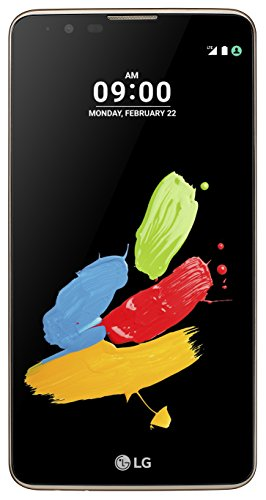 LG Stylus 2 Smartphone (14,5 cm (5,7 Zoll) Touch-Display, 16 GB interner Speicher, Android 6.0) braun Note 2 Stylus
