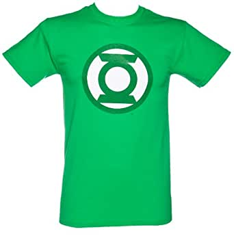 DC Comics Green Lantern Logo Only Mens T-Shirt (Green) (Large)