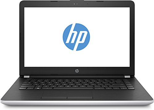 HP 14-bs101ng (14 Zoll / Full HD IPS) Notebook (Intel Core I5-8250U, 8GB RAM, 256GB SSD, AMD Radeon 520 2GB DDR3, Windows 10 Home 64) schwarz / silber