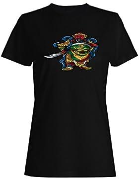 China, guerrero, china, arte, vendimia, guerra camiseta de las mujeres ss60f