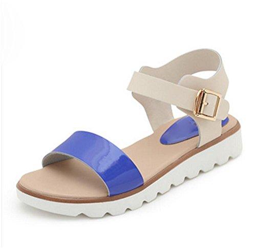 pengweiSandali semplici scarpe piane scarpe da donna incinte scarpe antisdrucciolevoli estive 5