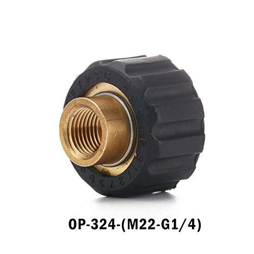 Druckreiniger-Adapter SENRISE Druck-Schnellkupplung Messing Innengewinde Schnellspannverbinder für