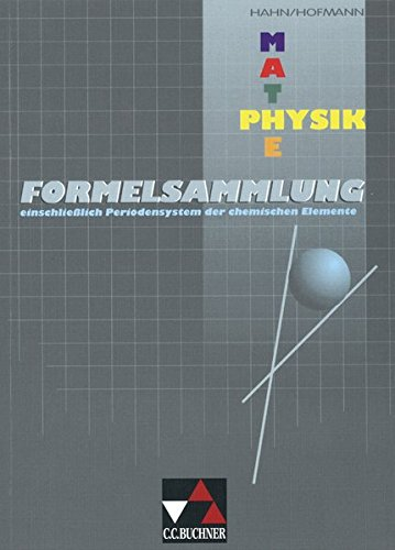 Preisvergleich Produktbild Formelsammlungen / Mathe/Physik - Formelsammlung