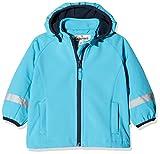 Playshoes Kinder Softshell Jacke Chaqueta, Turquesa (Aquablau 23), 86 para Bebés