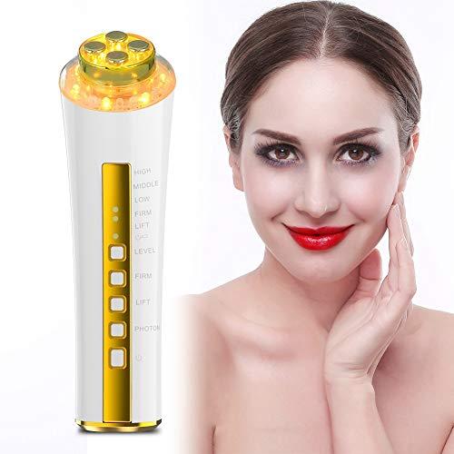Radiofrecuencia facial instrumento de belleza RF 3 Colores Reomve para evitar el envejecimiento y eliminar las arrugas del rostro Rejuvenecimiento de la piel Buen regalo