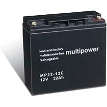Powery Batería Plomo-ácido (multipower) para Silla de Ruedas Eléctrica Alber Adventure