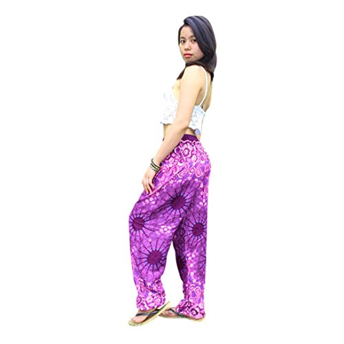 Bovake -  Pantaloni sportivi  - Donna Hot Pink