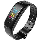 P4 Smart Armband, Blutdruckmessung, Herzfrequenzmessung, Schlafüberwachung, Schrittzählung, Kalorienüberwachung, IP67 Wasserdicht