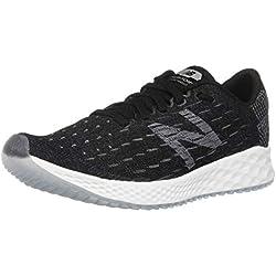 New Balance Fresh Foam Zante Pursuit, Zapatillas de Running para Mujer, Negro Black/White, 35 EU