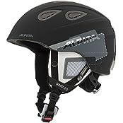 Alpina Grap 2.0 Helm schwarz/grau matt (A9085.X.31)
